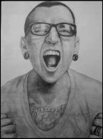 |Chester Bennington| by DianaMoris