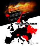48 Europe Shapes by DisasterLab