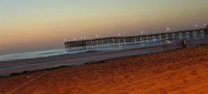 Crystal Pier At Night 2 by Devoral