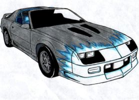 third gen camaro by rayvendawn