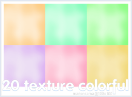 Texture colorful by MarionSama