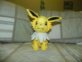 My Pokemon Plushie Collection - Jolteon by Megalomaniacaly