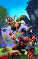 MM cover Who Watches the Garbagemen? ALEX HORLEY by DeevElliott