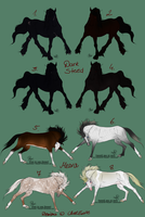 Middleearth Auction - meara and Dark Steed CLOSED by Faejala