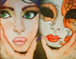 Two Faced by Pixi2loves
