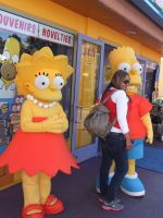 Simpson Cosplays of Bart and Lisa by trivto