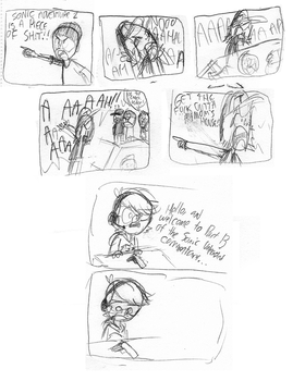 BrainScratchComics 1 by EvilDoctorShoe