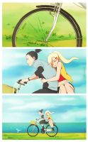 ShikaIno Summer fling by neonanything