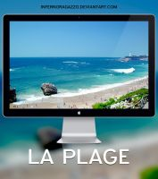 La Plage x HD Wallpaper by infernoragazzo