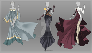 (CLOSED) Adoptable Outfit Auction 23-25 by Risoluce
