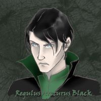 Regulus Scetch by Blacks-Bitch