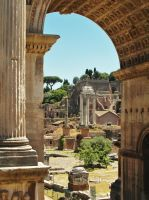 Rome - Forum by PhilsPictures
