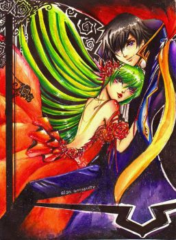 Code Geass: Witch and Warlock by rianbowart
