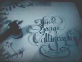 Calligraphy by modezta