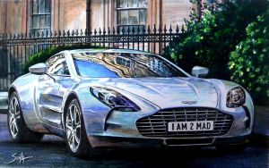 Aston Martin One-77 by tonio48