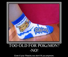 Too Old For Pokemon? by Dunkelkatze