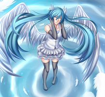 Miku Angel by i-Proxie