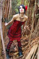 Nicky Forest Shoot 14 by Storms-Stock