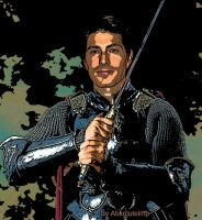 Brandon Routh as King Arthur by TheRealImp