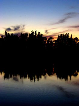 Lakeview 1 - Mirroring the Sky by Timekeeperxx