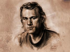 Heath Ledger by Rembrush