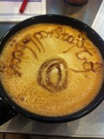 One Ring Latte by Coffee-Katie