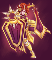 Leona of the Light by RinTheYordle