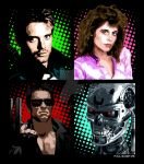Terminator Pop Art by paulelder