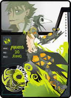 AB : MANTIS, the toxic king by Cuttlesworth
