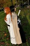 Rukia and Orihime by HellDolly