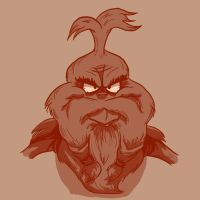 Bearded: The Grinch by Vanjamrgan