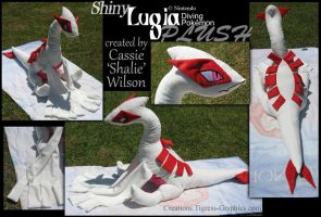 Lugia Plush by Shalie