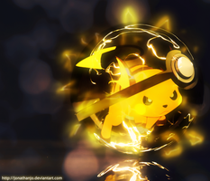Raichu Pokeball by Jonathanjo