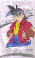 TYSON FROM BEYBLADE by Bluedragon85