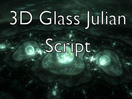3D Glass Julian Script by Shortgreenpigg