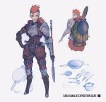 Sara Ilmalik - AA event Forest Expedition gear by CubieCal