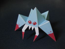 paper spider by wwei