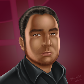 Facebook Profile - Selfportrait by manthx