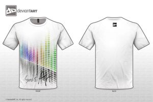 T-Shirt - Sound of Art by CitizenXCreation