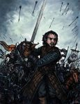 Jon Snow - Battle of The Bastards by TheLivingShadow