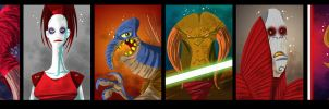 SW characters by themico