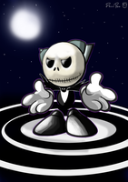 Skellington Fella by DrNice