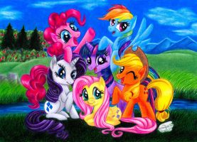 .:MLP:.  Best friends forever by Xx-Syaoran-kun-xX