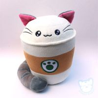 Catpuccino Cute Coffee Cat by kimchikawaii
