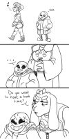 Bad Time (Doodle Comic) by WhisperSeas