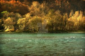 Drina river a by Neshom