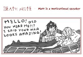251 : Death Note : Matt Speaks by witegots