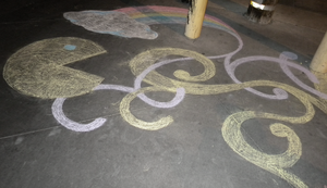 Chalk art 3 by TheDisappearingGirl
