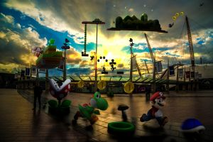 Mario at o2 (North Greenwich) by TMProjection