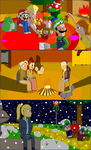 Super Smash Adventures Christmas......... In July by w00twithBrawl